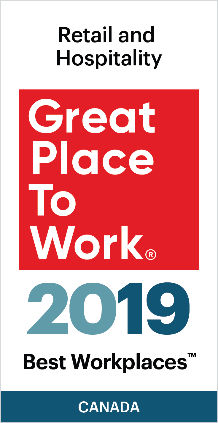 Best Workplaces 2019 Retail and Hospitality
