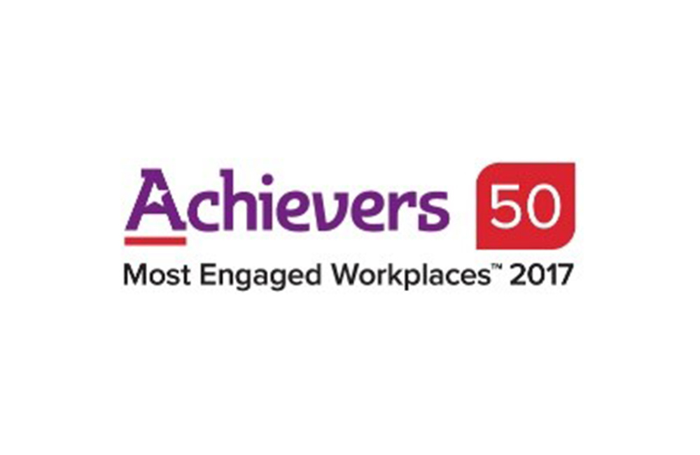 Achievers Most Engaged Workplaces 2017 logo