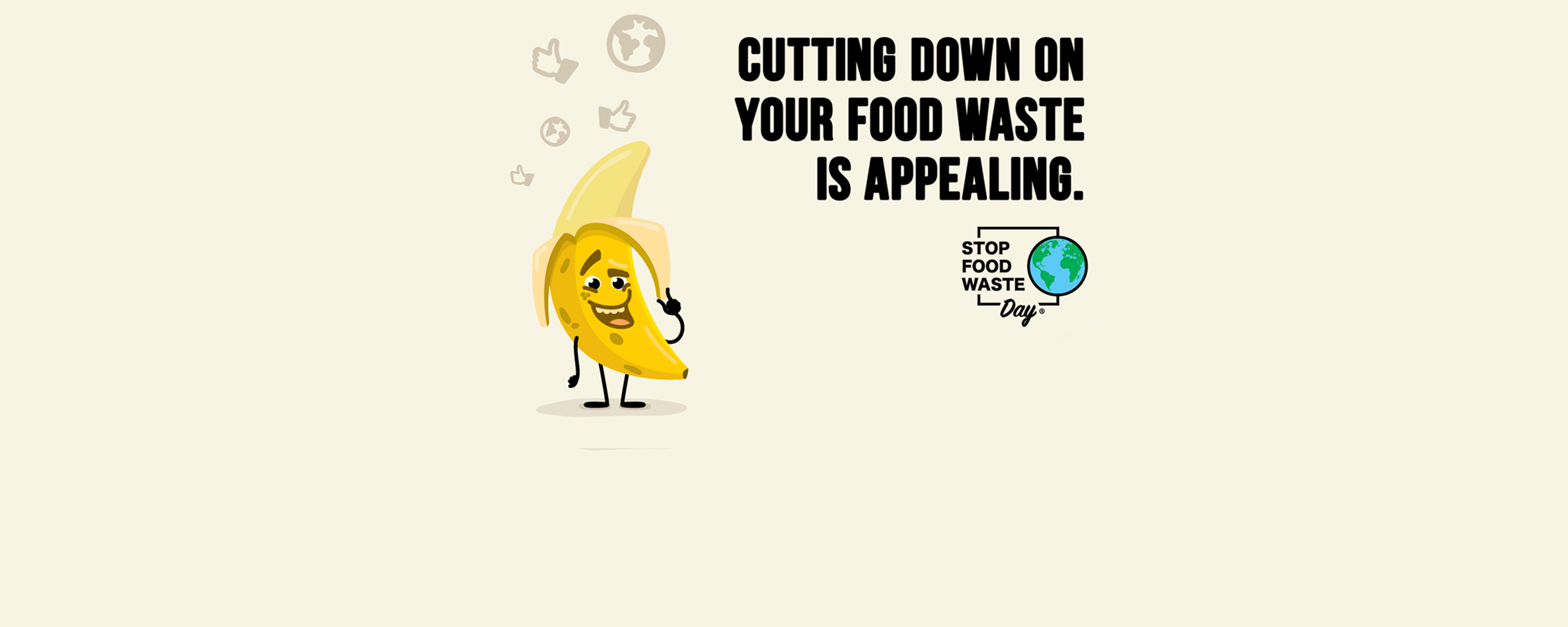 cutting down on food waste is appealing