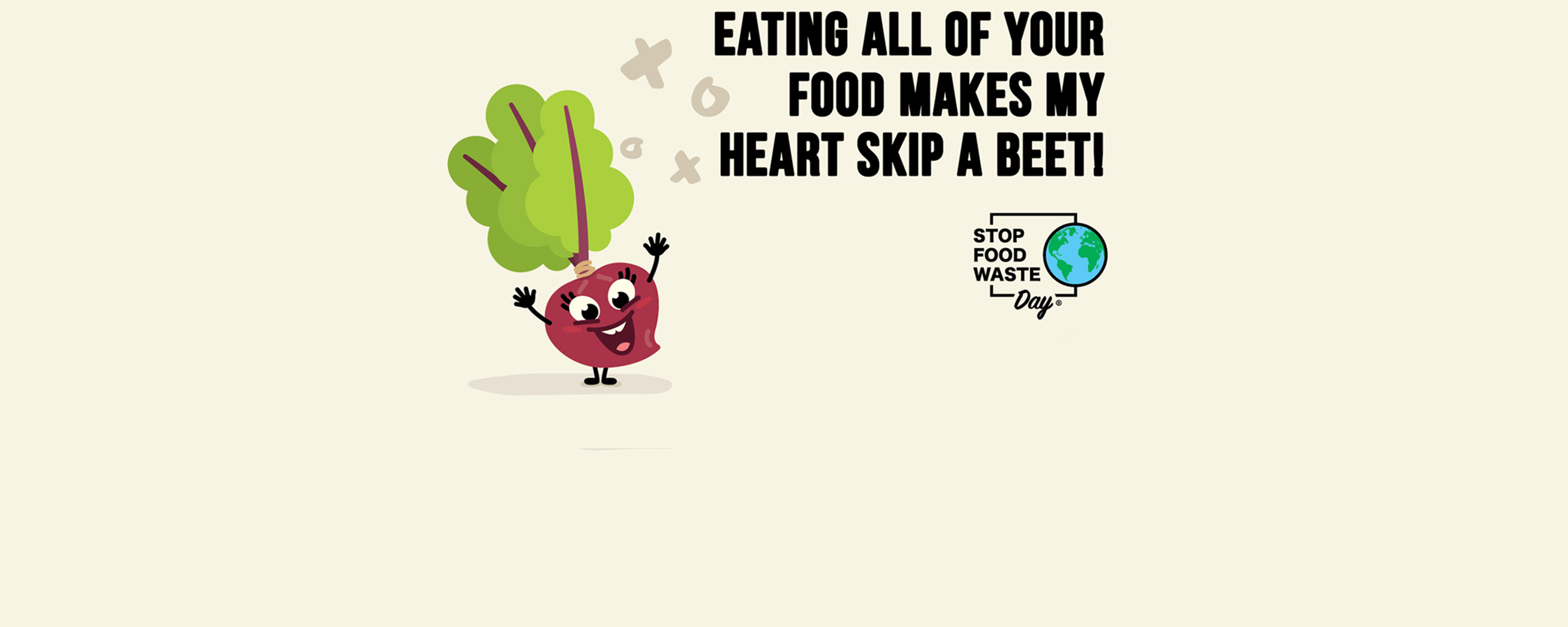 eating all of your food makes my heart skip a beet